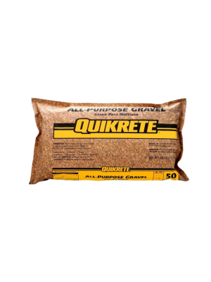 QUIKRETE All-Purpose Pea Gravel - 50#