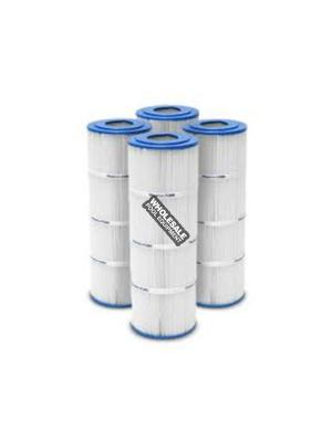 Pleatco PA75SV-PAK4 Replacement Filter Cartridge For C570; Swim Clear C3020; Super-Star-Clear C3000; C3000S Sta-Rite PRC 75; 4 oz/yd; 300 sq-ft; 19-3/4 Inch