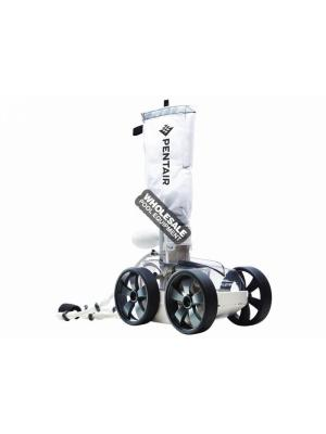 Kreepy Krauly Platinum Grey Top, White Bottom Pressure Side Pool Cleaner