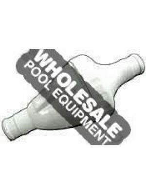 Zodiac 9-100-1201 In-Line Back-Up Valve For Polaris Vac-Sweep 360 Pool Cleaner; Black