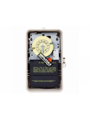Intermatic Incorporated T104P201 Timer w/Heater Delay, 208/277v, Plastic