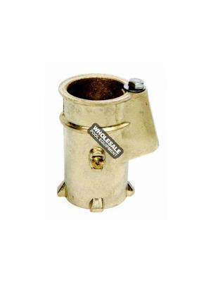 SR Smith AS-100B Standard Anchor Socket; 4 Inch Depth; Brass