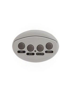 Pentair 521884 4-Button iS4 Spa-Side Remote Control - Grey W/ 50' Cord