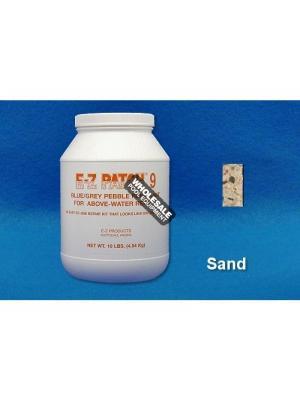 E-Z Products, EZP-223 E-Z Patch 9 Pebble Plaster Repair; 10 lb, Sand