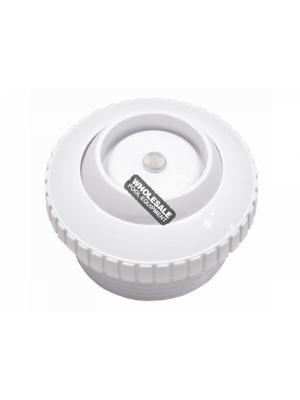 "CUSTOM MOLDED PRODUCTS LLC 25552-500-000 SPA CHECK VLV 1.5"" MIP WHT"