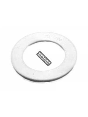 "WATERWAY PLASTICS 711-4000B 1.5"" FLAT UNION GASKET"