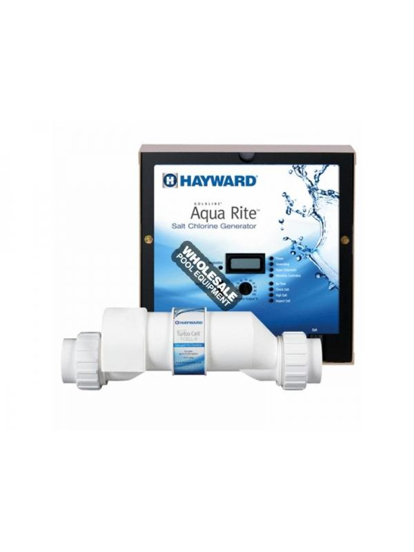 Hayward AQR9 AquaRite Salt Chlorination System W/ Control Panel - 25,000 Gallons