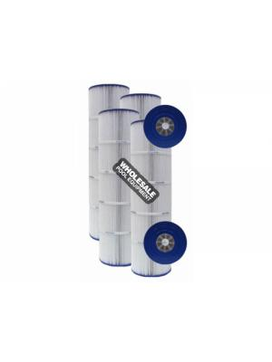 Pleatco PA100N-PAK4 Replacement Filter Cartridge For Super-Star-Clear C4000; SwimClear C4020; 4 oz/yd; 400 sq-ft; 25-1/2 Inch