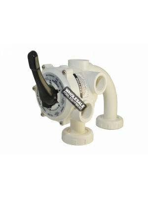 Pentair 261173 Sand/ Quad DE Side Mount MultiPort Valve, 1.5""