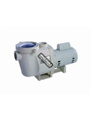 Pentair 011641 WhisperFlo WFK-4 3-Phase TEFC Super-Duty High Performance Pump - 1HP 208-230/460V
