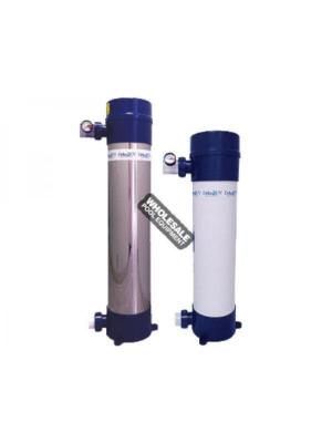 Delta Ultraviolet 37-08544 D-80 Ultraviolet Sanitizer; 2 Inch Inlet/Outlet, PVC Plastic, 80 W, 120/240 V-50/60 Hz
