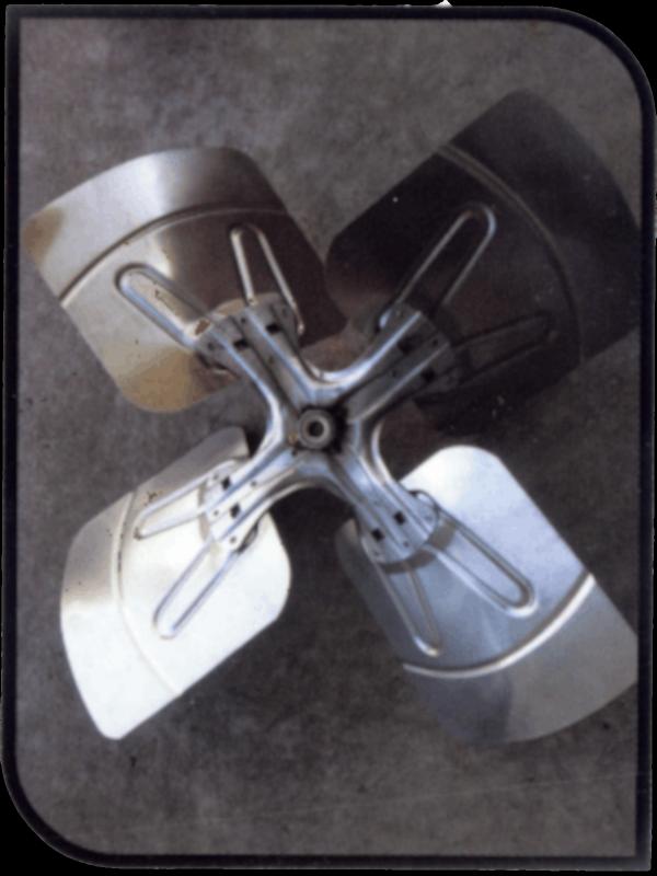 Aqua Comfort 100-201 Fan Blade For Signature ACT; Vintage Classic Heat Pump; 24 Inch