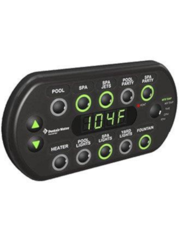 Pentair 521176 SpaCommand Spa-Side Remote - Black W/ 150' Cord