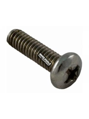 Waterway Plastics 819-1110 Stainless Steel Machine Screw For Hi-Flo & Executive Face Plate; #8-32 x 5/8 Inch