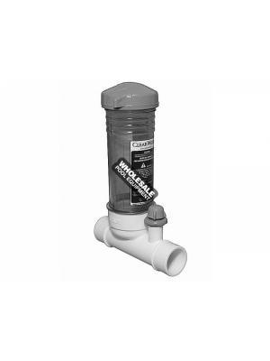 Waterways Inline Clear Chlorinator 12 Tablet Feeder