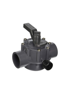 Jandy 1157 CPVC 2-Way Gray Valve 1.5-2""
