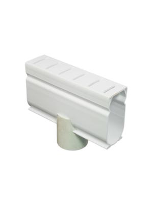 Stegmeier DDAW Deck Drain Down Adapter; White