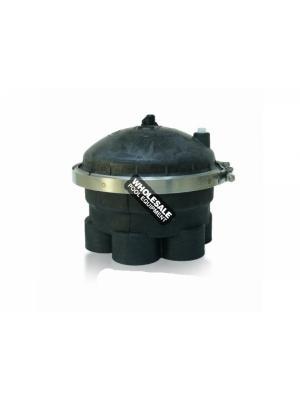 PARAMOUNT 004-302-4154-03 2-Port 4 Gear Circulation Water Valve; 2 Inch; Black