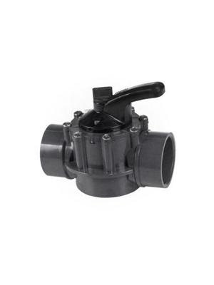 Hayward PSV3SMDGR External Threaded PVC 3-Way PSV Diverter Valve