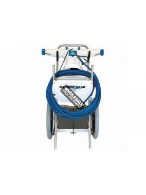 Hammerhead SERVICE-30 Pool Vacuum Cleaner with Cart & Truck/Trailer Mount; 30 Inch Head; 60 ft Cord