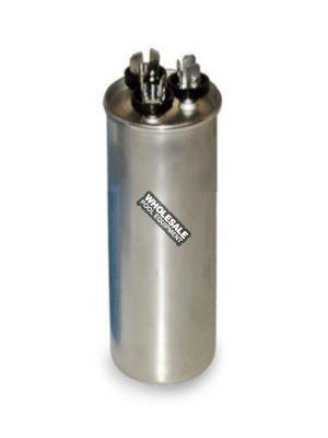 Regal Beloit; 19566230; Special Dual MFD Run Capacitor; Round; 30/10 MFD; 370V