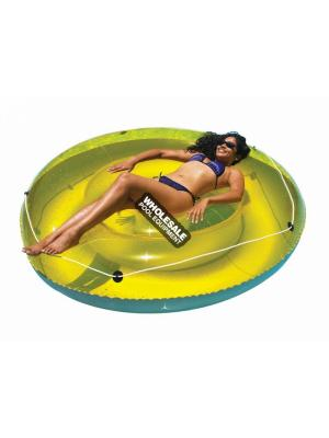 International Leisure Products, 9050, Swimline Water Sports, Swimline(R) Inflatable Island Loungers, 6' Island SunTan Lounge