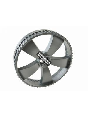 Pentair 370406Z Wide Wheel without Bearings For Kreepy Krauly Platinum Pool Cleaner; Gray
