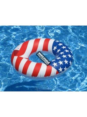 International Leisure Products, 90196, Swimline Water Sports, Swimline(R)Americana(TM) Series, Americana Series Ring
