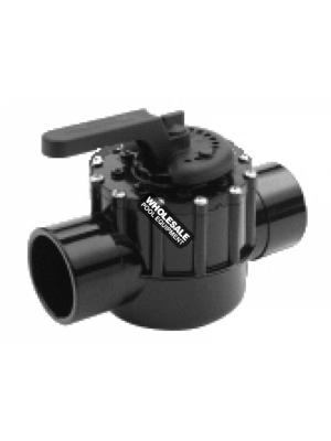 Pentair 263059 CPVC FullFloXF 2-Way Valve, 2.5-3""