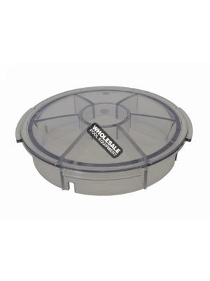 Pentair EQ Series Strainer Lid For EQ-Series Commercial Plastic Pump with and without Hair and Lint Strainer; Clear