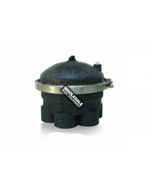 PARAMOUNT 004-302-4190-03 9-Port Water Valve; 2 Inch; Black