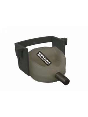 A & A 540200 Glued-In T-Valve and Clip Assembly For Low Profile and Top Feed Valve; 1-1/2 Inch