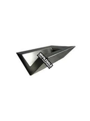 """6"""" Wedge Stainless Steel Scupper"""