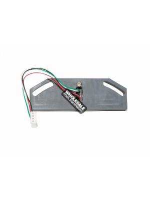 Zodiac 2-7-304 Sensor Plate Assembly For Molded UltraFlex 2 Calve; Vinylcare; UltraFlex 2 Valve In-Floor Pool Cleaning System; Black