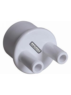 """Waterway Plastics  672-4010 1""""SPGx(2)3/8""""B PORTS MANIFOLD"""