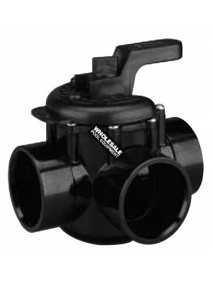 Pentair 263035 CPVC 3-Way Valve, 1.5-2""
