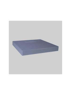 Diversitech EL2424-2 E-Lite Polypropylene Plastic Equipment Pad; 24 Inch x 24 Inch x 2 Inch, Gray
