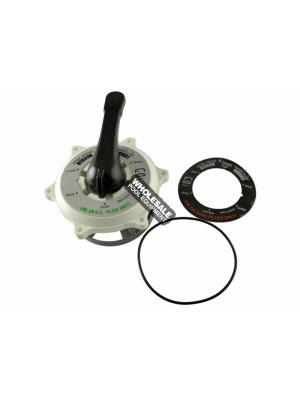 Pentair 270068 Valve Top Assembly For HiFlow 2 Inch Top and Side Mount MultiPort Valve Model 261177 and 261173; 1-1/2 Inch