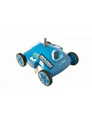 Aquaproducts AquaBot Pool Rover S2-40 Above-Ground Robotic Pool Cleaner; 120 VAC/48 VDC; 150 W; 40 ft Swivel Cord; Blue