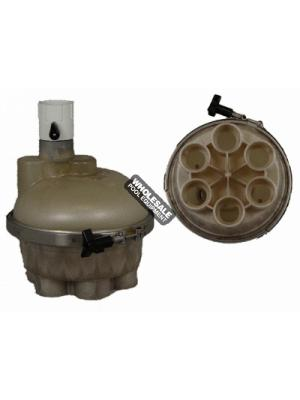 A & A Top Feed 6 Port 1-1/2in. T-Valve Water Actuator