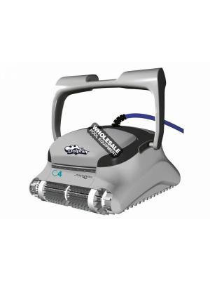 Trade Grade Maytronics Dolphin 99991083-C4 Robotic Pool Cleaner with Caddy & Pro Remote