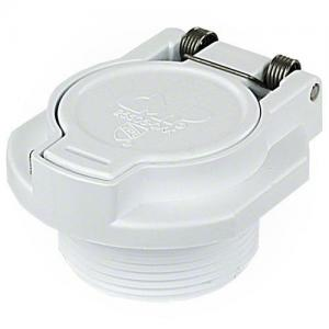 Waterway 600-2200 1-1/2in. MPT Vac Lock Fitting, White