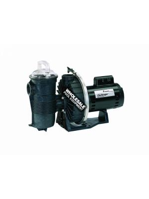 Pentair 345205 Challenger High Pressure Full Rated Pump - 1HP 115/208-230V EE