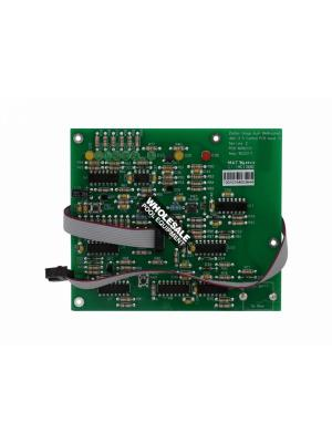 Zodiac W222111 Rectangular PCB For LM2 Series Chlorinator Power Pack; 5-1/4 Inch L x 4-1/2 Inch W; Green; Qty 1