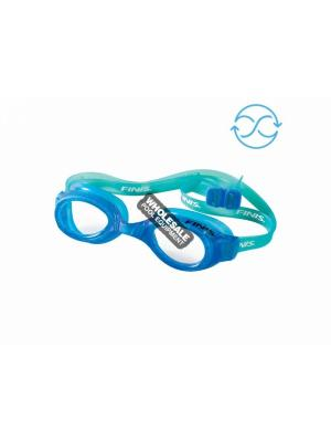 Finis Inc, 3.45.009.205, Goggles & Caps, Kids, H2 JR, Color - Blue/Clear