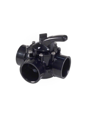 "Hayward PSV3S2 CPVC 3-Way PSV Diverter Valve 2""-2.5"""