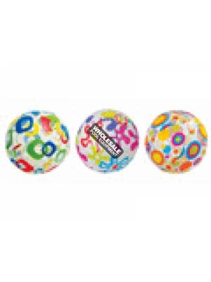 "INTEX RECREATION CORPORATION 59050EP 24"" LIVELY PRINT BALLS, Age Grade 3+"
