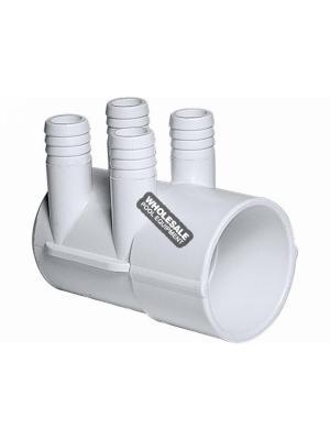"""Waterway Plastics 672-7170 2""""Sx(4) .75""""RB PORTS MANIFOLD"""