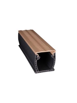 Stegmeier FM3T 3 Inch Flowmaster 3 Commercial Drain; 10 ft, PVC, Tan