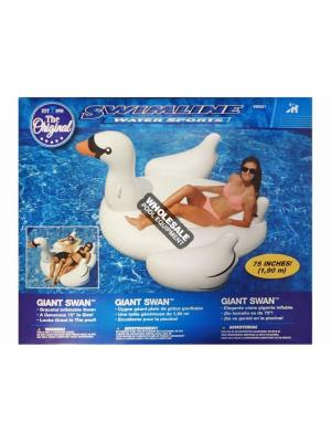 INTERNATIONAL LEISURE GIANT SWAN RIDE-ON